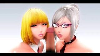 Prison School - Meiko 3D