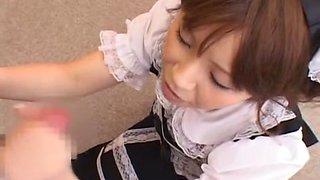 Horny Japanese whore Sumire Matsu in Fabulous Blowjob, Teens JAV movie