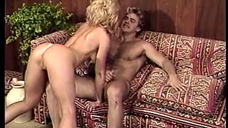 Nina Hartley sucks and fucks a large cock