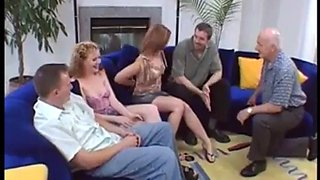 Swinger two couples