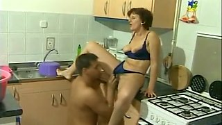 milf getting fucked raw in the kitchen