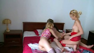 Russian teens orgy