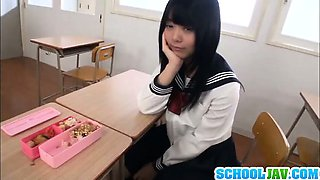 Deep penetration for sleazy schoolgirl