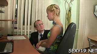 wild drilling with mature tutor movie clip 1