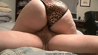 Anal Big Butt BBW Housewife MILF