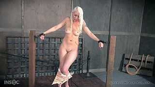 Sex-hungry chick Lorelei Lee is punished in the bdsm room