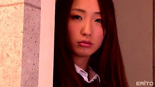 asian teen was bound, punished and fucked