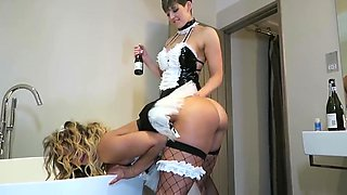 HannahBrooks in DIRTY MAIDS A FUCK MACHINE AND CHAMPAGNE