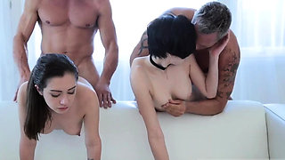 Group sex lespartner' ally and taboo aunt nephew A Magical