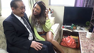 Dirty Old Man And Japanese Black Gal 1