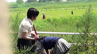 Kinky asian sluts peeing