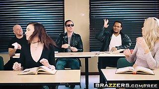 Brazzers - Big Tits at School -  The Substitu