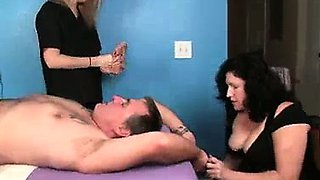 Punished By Mom and Daughter
