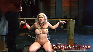 Midget bondage Bigbreasted towheaded cutie Cristi Ann is on vacation boating and