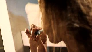 Kristanna Loken nude taking a shower, then a guy joins her