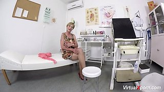 hairy mom waiting for the doctor