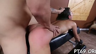 Dirty slut is abused and fucked