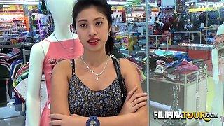 Teen filipina hairy street meat taken