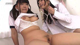 Nurse Knows How To Make This Teen Cum - JapansTiniest