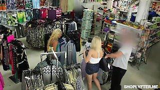 shoplifter teen daisy stone gets a hot sex