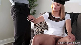 Father fuck his sleeping compeers daughter and mother strap on anal The Graduate