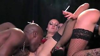 Smoking Whores and Black Cock