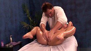 Bestgonzo Erotic Oil Massage Lead To Roughsex