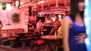 Thai street hookers   ladyboys candid compilation 1