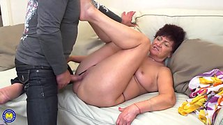 Taboo home sex with mother and granny