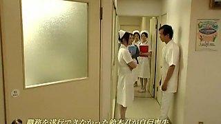 Crazy Japanese whore in Hottest Nurse, Fetish JAV clip