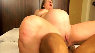 pregnant - hoot milf Reina Red get big black cokc