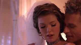 Never forgotten moments with a sexy passionate bride Ella Nova