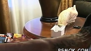 smoking and pleasing her man film clip 2