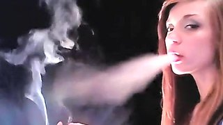 Fabulous homemade Smoking, Redhead adult video