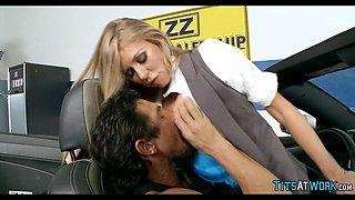 Slutty car dealership