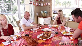 Game show crony friends daughter Spanksgiving With The Family