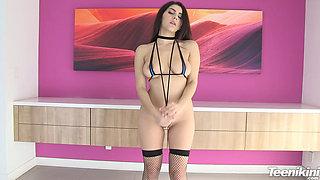 021 Valentina Nappi Sling Bikini HD
