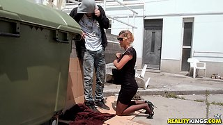 Skinny babe Shona River gets her pussy banged by a friend