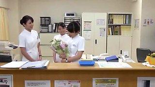 Fabulous Japanese model Megumi Shino, Riri Kuribayashi, Ririka Suzuki in Incredible Cunnilingus JAV clip
