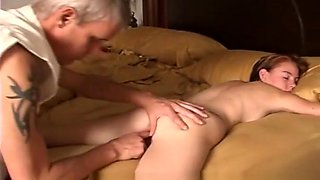 Teen BABY SITTER FUCKED by DADDY