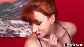 British mistress spunked