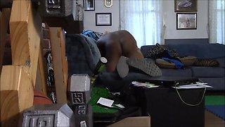 my mature wife seducing young black neighbor on hidden camera