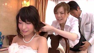 in the bride's make room