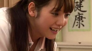 Incredible Japanese girl Rei Mizuna in Crazy Nurse JAV movie