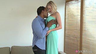 Exotic pornstars Vicktoria, Franco in Best MILF, Interracial sex video