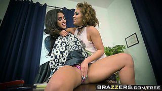 Brazzers - Hot And Mean -  Girl Fight scene s
