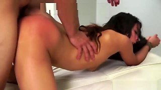 Abused And Used Brunette Teen