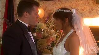 Groom Fucks The Sexy Bride Kirsten Price In Lingerie After Wedding