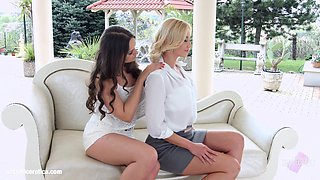 Natural Love by Sapphic Erotica - Lindsey Olsen and Kendra