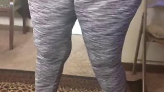 Granny likes the attention bbw cameltoe phat booty